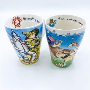Paul Cardew Design Set of Two Collectors Mugs